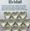 "Giving Bowls & Giving Hearts - Essentials ""Bridal"" - 10 pieces"