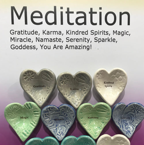 "Giving Bowls & Giving Hearts - Essentials ""Meditation"" - 10 pieces"