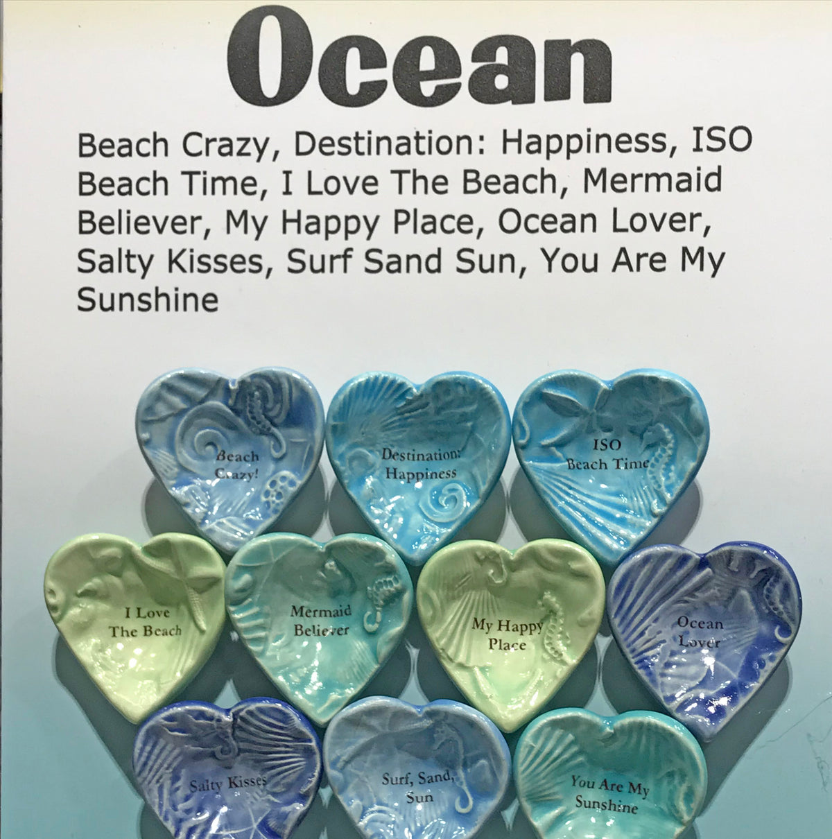 "Giving Bowls & Giving Hearts - Essentials ""Ocean"" - 10 pieces"