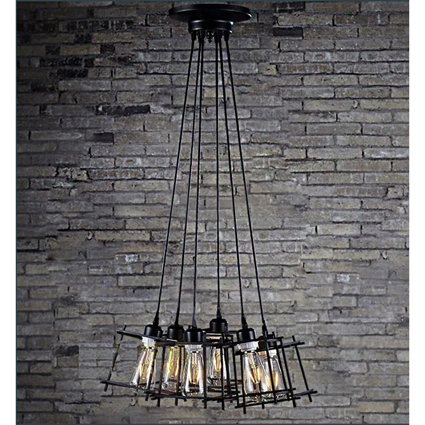 Titania Adjustable Cord Edison Chandelier