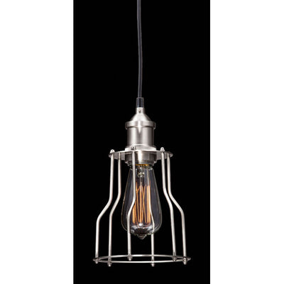 Nickel Metal Ceiling Lamp