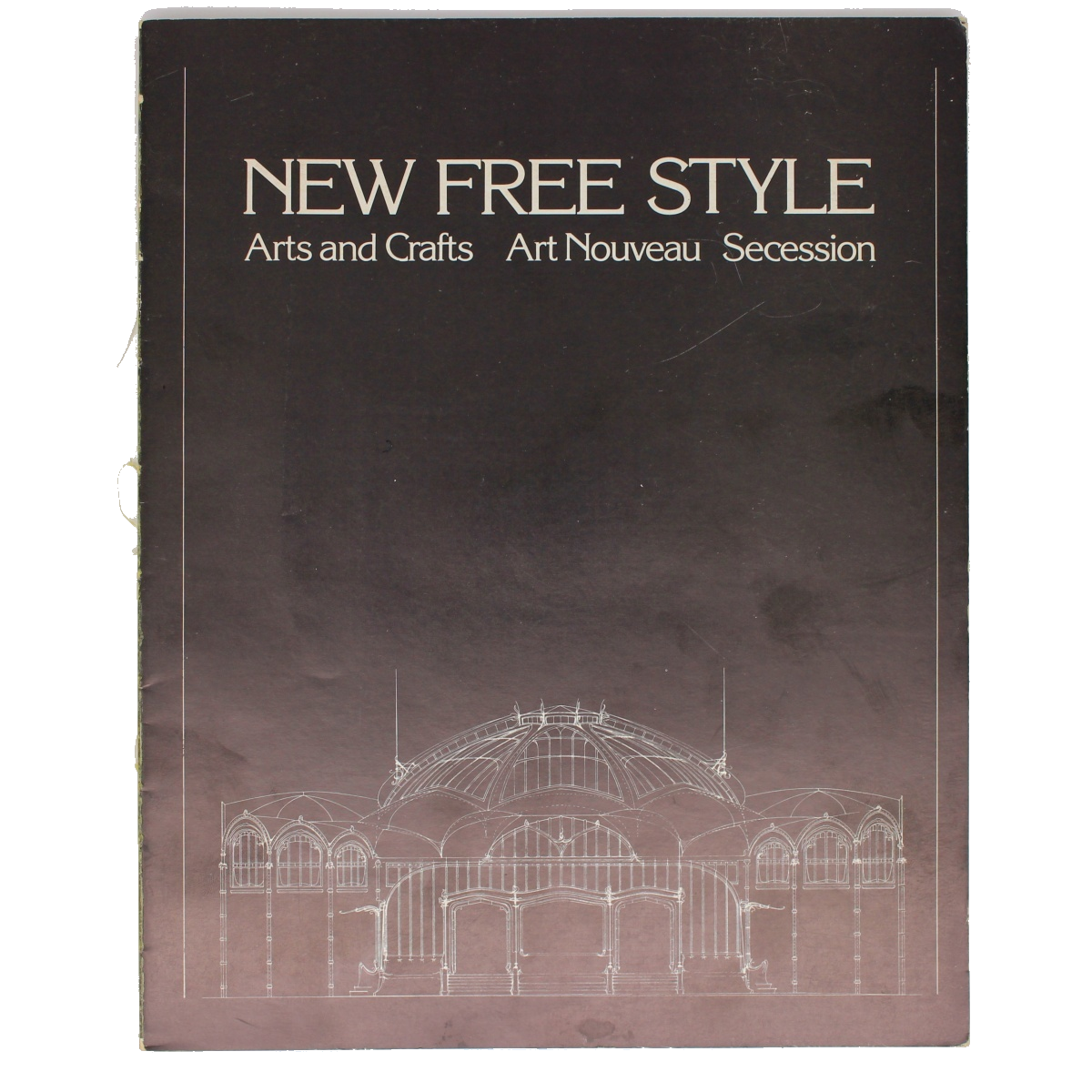 New Free Style Arts and Crafts Art Nouveau Secession - Coffee Table Book (VINTAGE)