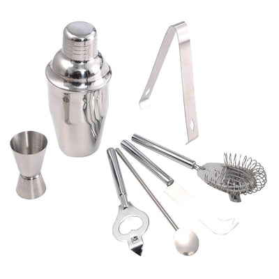 Stainless Steel Cocktail Bar Tool Set