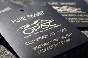 Olympic Peninsula Skagit Tactics Lines, Leaders & Tippet OPST Commando Shooting Heads