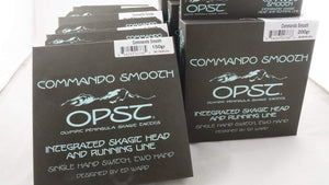 Olympic Peninsula Skagit Tactics Lines, Leaders & Tippet OPST Commando Smooth Integrated Skagit Head/Running Line