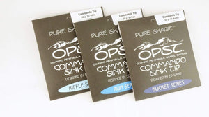 Olympic Peninsula Skagit Tactics Lines, Leaders & Tippet OPST Micro Skagit Commando Sink Tips, 7.5'