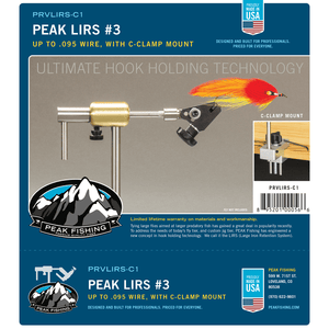PEAK LIRS Series 3 with C-Clamp - Fly Fishing Now