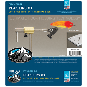 PEAK LIRS Series 3 with Pedestal Base - Fly Fishing Now