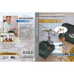 PEAK Rotary Tying Tips DVD - Fly Fishing Now