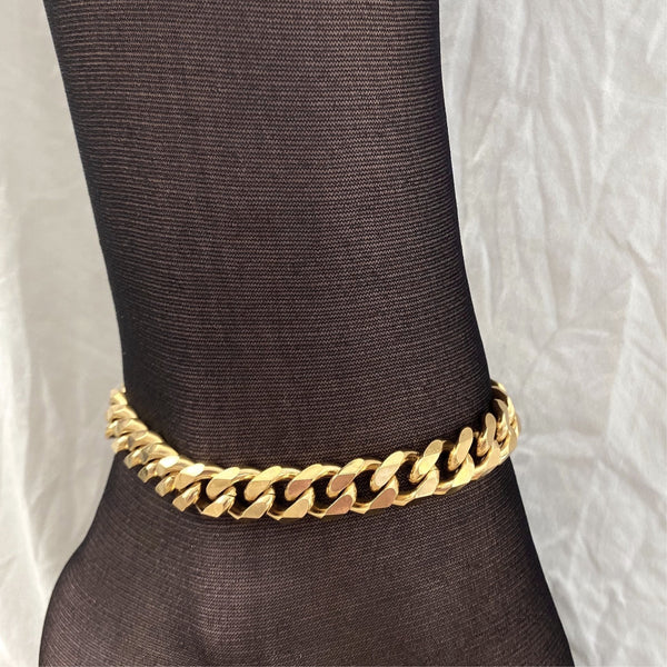 Calliope Gold Link Anklet