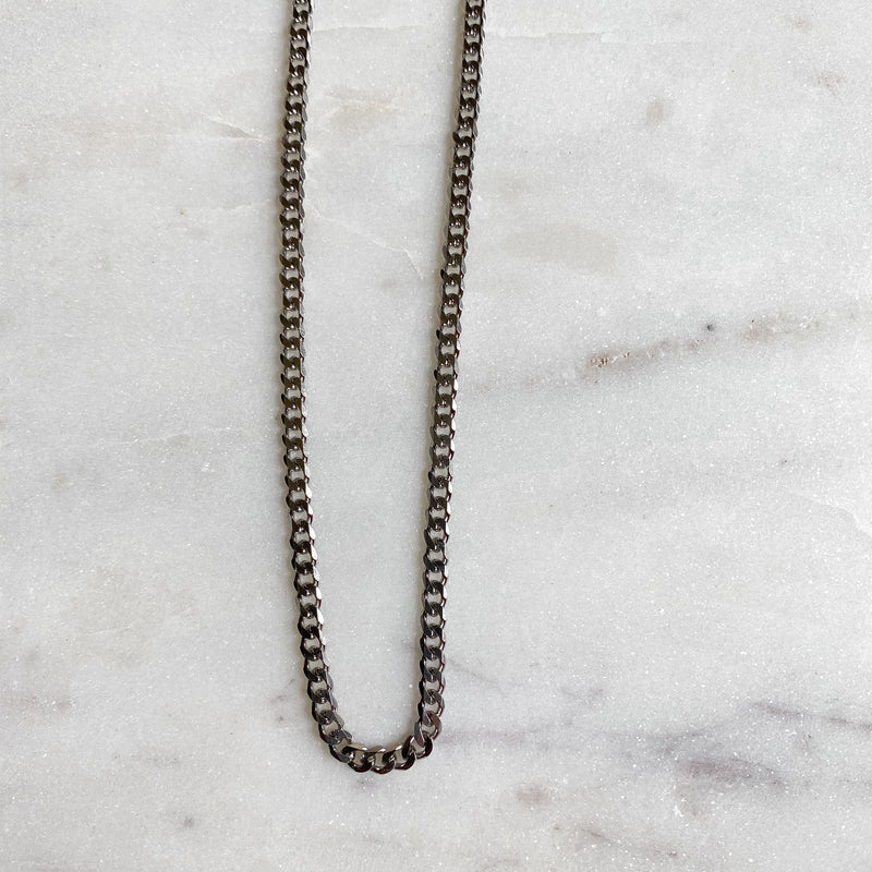 Apollo Silver Curb Chain