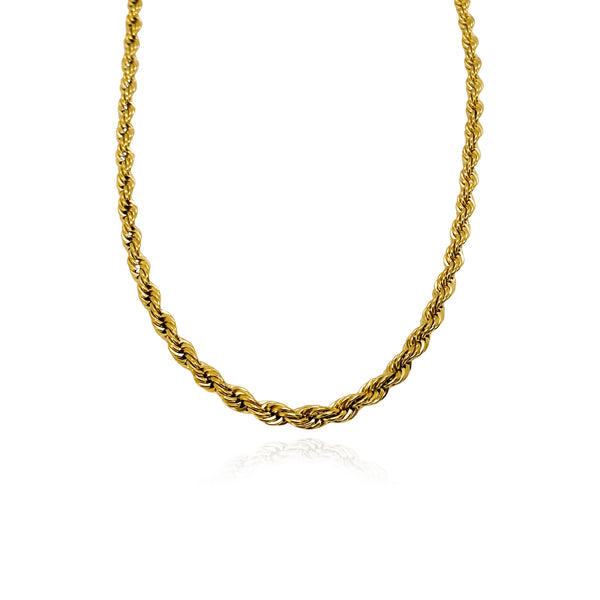 Thea 24k Rope Necklace