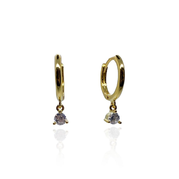 Selene Mini Gold Chandelier Hoops