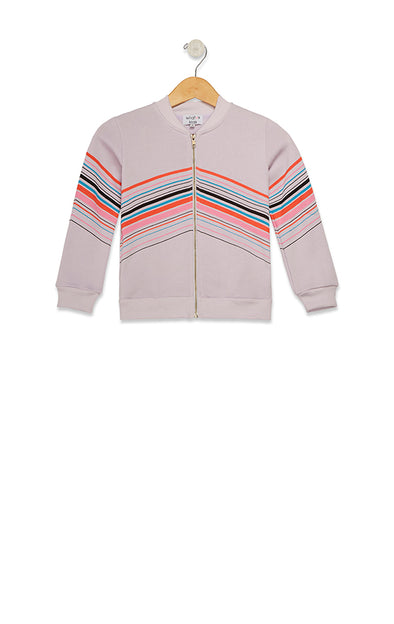 Kids Bobby Bomber So Stripey  | Iris