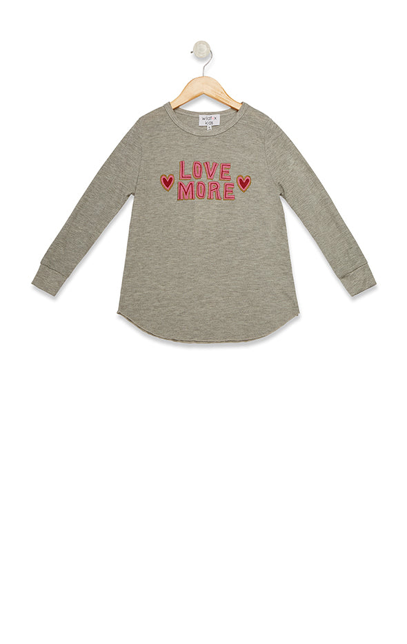 Littlefox Love More Girlfriend Thermal  | Heather