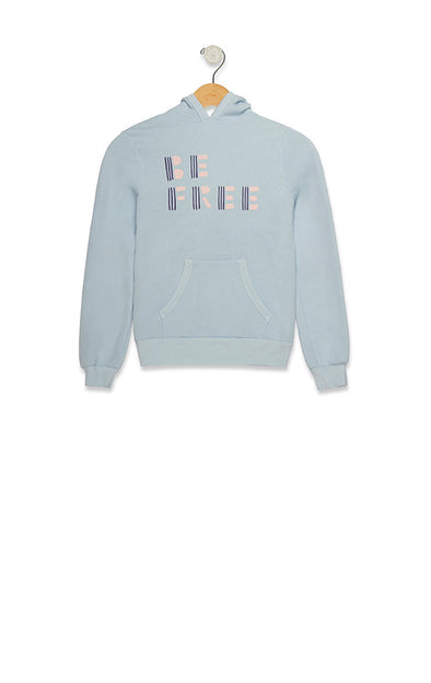 Kids Be Free Malibu Pullover | Powder