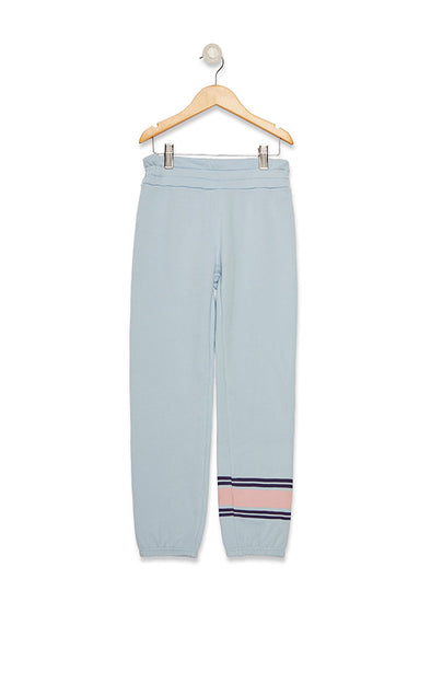 Kids Free Stripes Malibu Sweats  | Powder