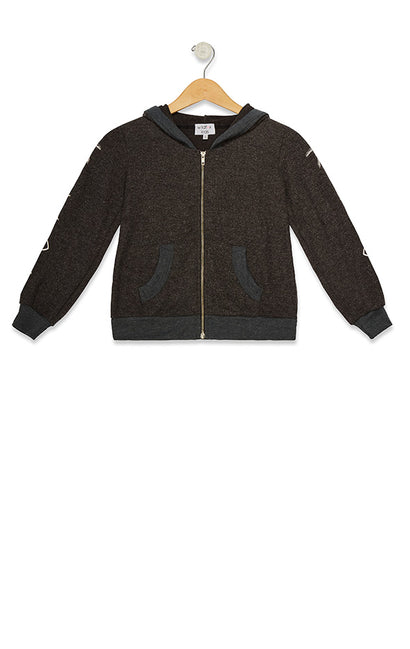 Kids Malibu Zip Up Mystic Icon  | Night