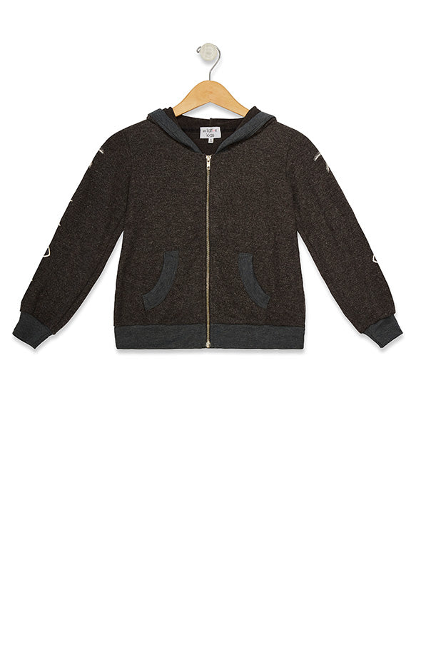 Littlefox Malibu Zip Up Mystic Icon  | Night
