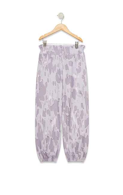 Littlefox Rose Camo Bottoms Malibu Sweats  | Multi Colored