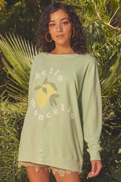 Limoncello Roadtrip Sweatshirt | Shore