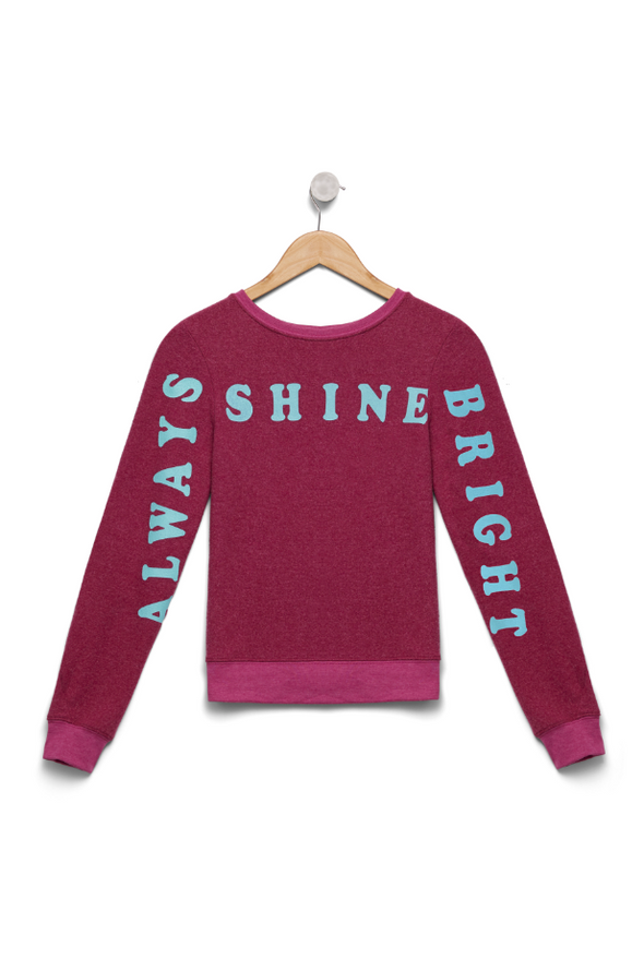 Kids Always Shine Bright Baggy Beach Jumper | Passion