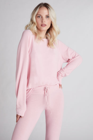 Baggy Beach Jumper  | Carnation