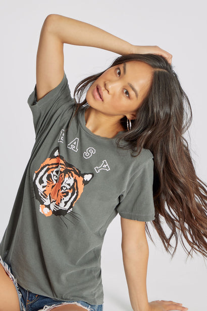 Easy Tiger Keke Tee | Pigment Dirty Black