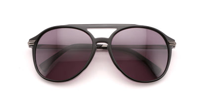 Baroness Sunglasses | Black Gunmetal