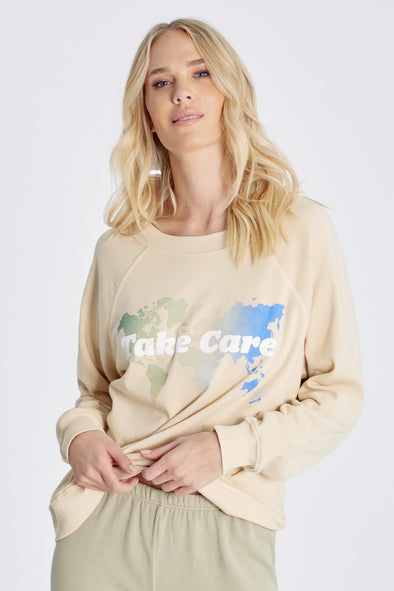 Take Care Sommers Sweatshirt | Wheat