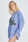 Hug Trees Roadtrip Sweatshirt | Pigment Dusk