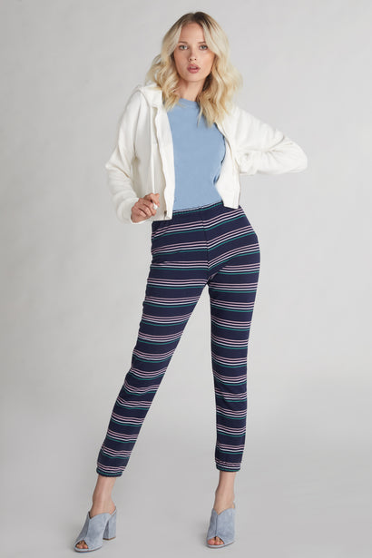 Cheri Stripes Knox Pants  | Oxford