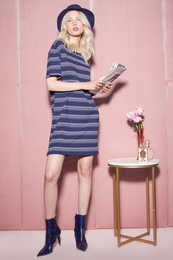 Chéri Stripes Saige Dress | Oxford