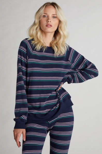Chéri Stripes Sommers Sweatshirt | Oxford