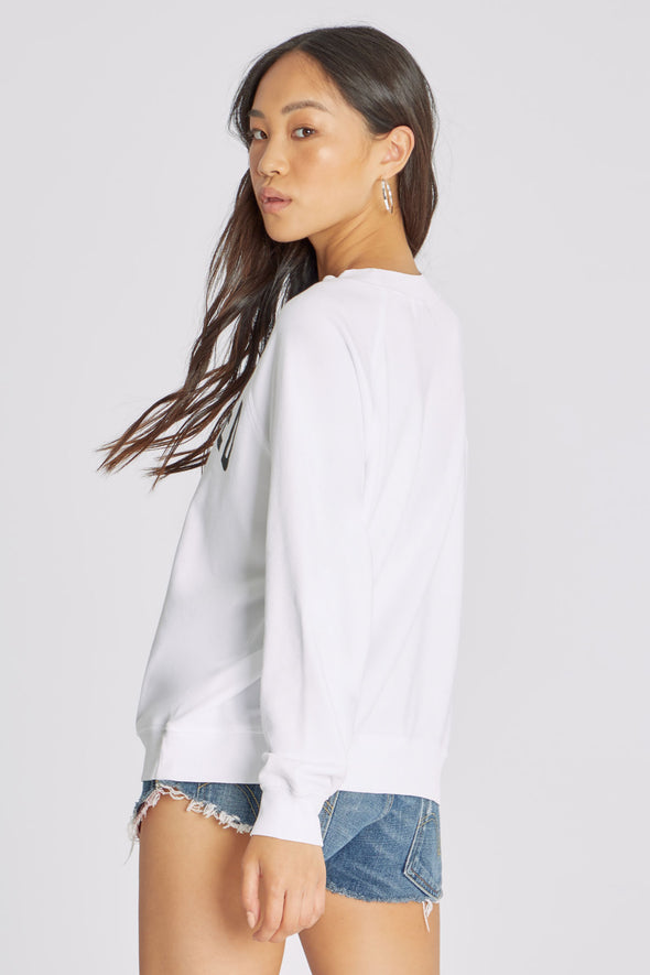 Reserved Sommers Sweatshirt | Clean White