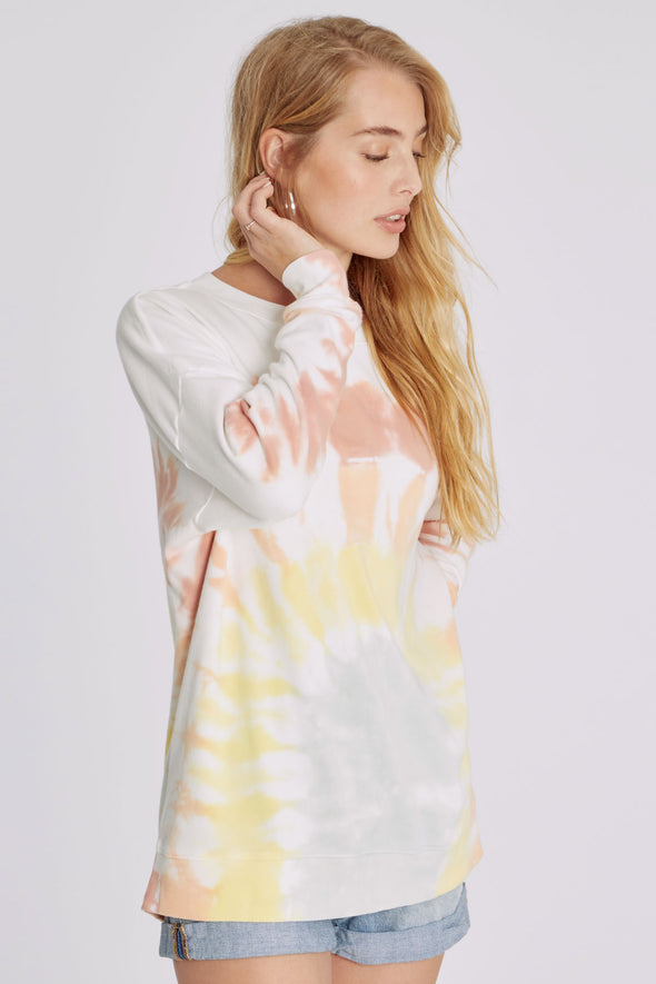 Roadtrip Sweatshirt | Rainbow Tie Dye