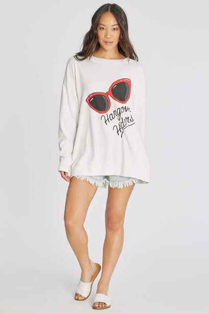 Hangover Hiders Roadtrip Sweatshirt | Vanilla