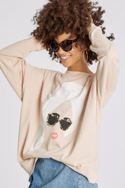 Busy Lounging Roadtrip Sweatshirt | Paloma