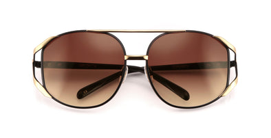 Dynasty Sunglasses | Black Gold