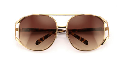Dynasty Sunglasses | Gold