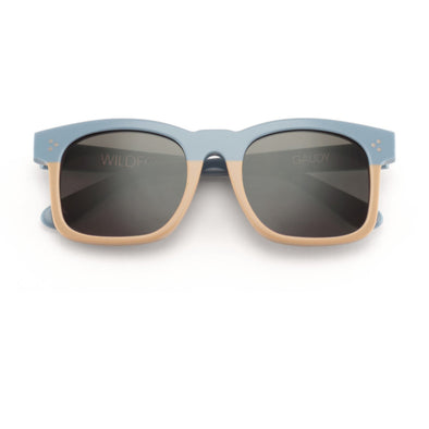Gaudy Zero Sunglasses | Baby Blue/ Cream