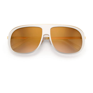 Bunny Slope Deluxe Sunglasses | White