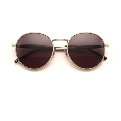 Dakota Sunglasses | Antique Silver/Black