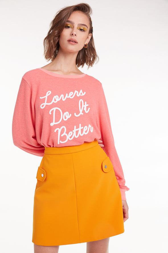 Lovers Do It Better Baggy Beach Jumper |  Preppy