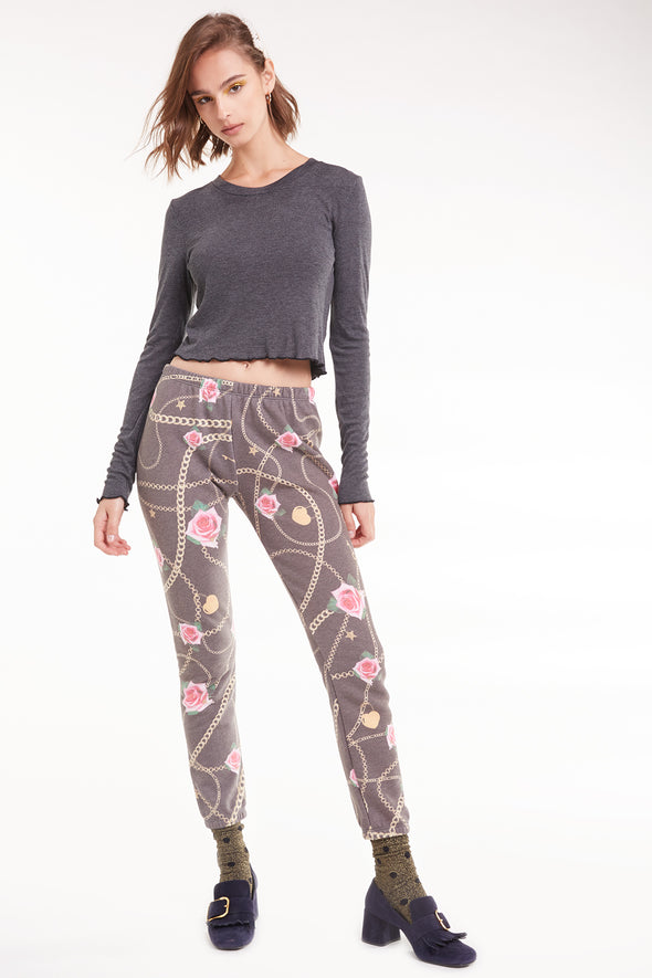 Rose Gold Knox Pants  | Multi Colored