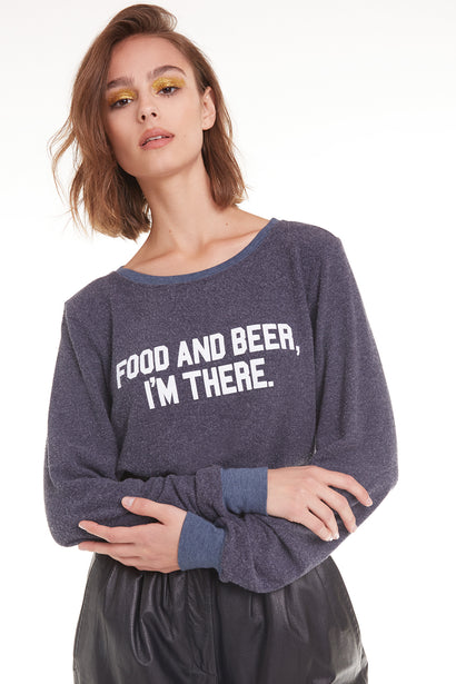 Food and Beer Baggy Beach Jumper