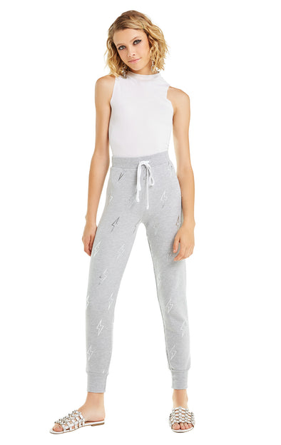 Silver Bolt Jack Jogger | Heather