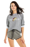 Taco to Me Sommers Sweater | Heather