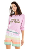 My Yoga Baggy Beach Jumper | Orchid