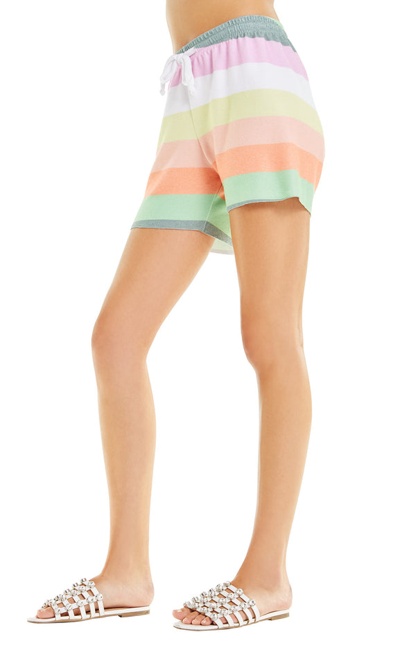 Sorbet Stripes Carter Shorts | Muti